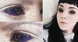 Ужасяваща тенденция: Татуировки за очи