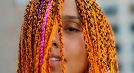 Хит или Шит: Алиша Кийс направи от косата си дъга