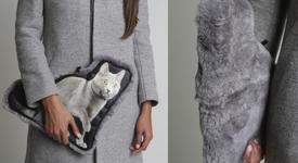 Нов моден аксесоар - чанта от котенце?