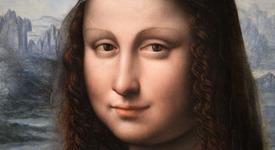 Мона Лиза с кратка разходка до Луната
