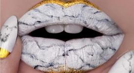 Ново в красотата: Устни като мрамор