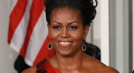 Мишел Обама харчи като невидяла