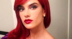 Ангелите на Victoria`s Secret: Грим за Хелоуин