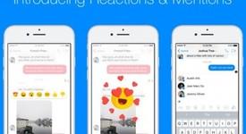 Нови функции във Facebook Messenger: Споменаване на човек и реакции
