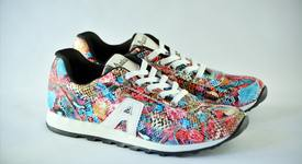 Обувките на 2020 г. - шарени маратонки