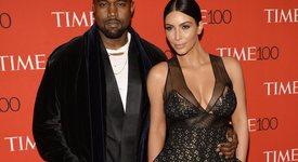 Ким Кардашян към Кание Уест: Ще те обичам вечно