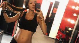 Теа Минкова тренира бременна