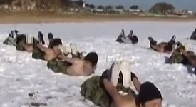 Брутални тренировъчни лагери учат корейчетата на ред и дисциплина (+видео)