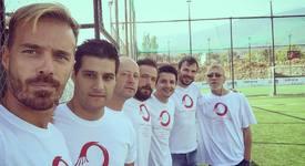 За благотворителна кауза: Актьори срещу футболисти