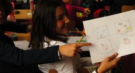 """Децата от 139 ОУ в София рисуваха с Cartoon Network Студио """"Въображение"""""""