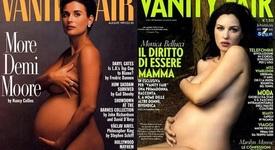 През годините: Бременните звезди, които позираха голи за корица