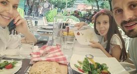 Александър Сано на почивка в Гърция