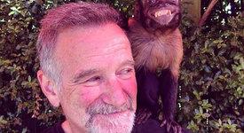 Робин Уилямс имал маймунка и обичал да разсмива майка си