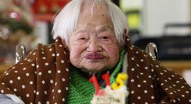 На колко години са най-възрастните хора в света ?