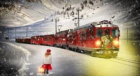 Вълшебно пътуване с експрес на Дядо Коледа
