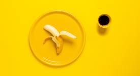 Преди тренировка: банан или кафе, а не добавки