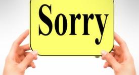 """Никога не казвай """"Извинявай"""" в тези ситуации (част втора)"""
