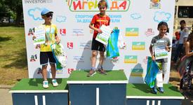 Стотици деца спортуваха и се забавляваха с родители по време на Детска игриада