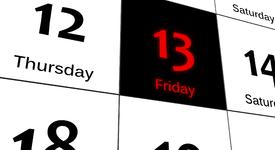 Днес е петък 13-и, известен още като
