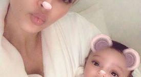 Ким Кардашян показа дъщеря си в медиите