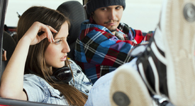 За какво най-често се карат двойките по време на път?
