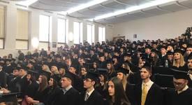 На тържествена церемония бяха раздадени дипломите на випуск 2017 във ВУЗФ