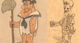 Как ще изглеждат анимационните герои под рентген (+ снимки)