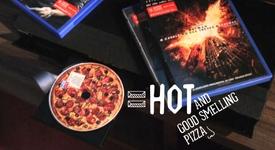 Пицария създаде DVD дискове, миришещи и изглеждащи като пица (+видео)