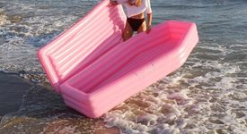 Изобретиха розов дюшек-ковчег