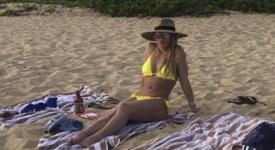 Бритни Спиърс - за новата година на плаж