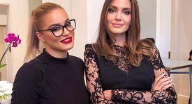 Жени Джаферович се щракна с Анджелина Джоли