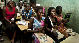 Присъедини се към ALWAYS и дай шанс на момичетата в Африка да сбъднат мечтите си