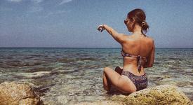 Михаела Маринова - русалка в Гърция