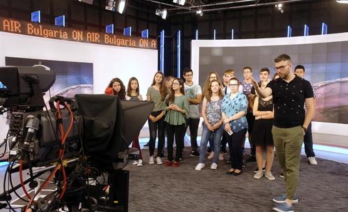 Bulgaria ON AIR и Bloomberg TV Bulgaria: Ден на отворените врати за ученици