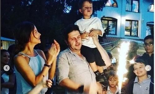 Диляна Попова и Блатечки празнуват рождения ден на сина си