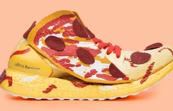 Пица, сирене и графити като дизайнерски маратонки