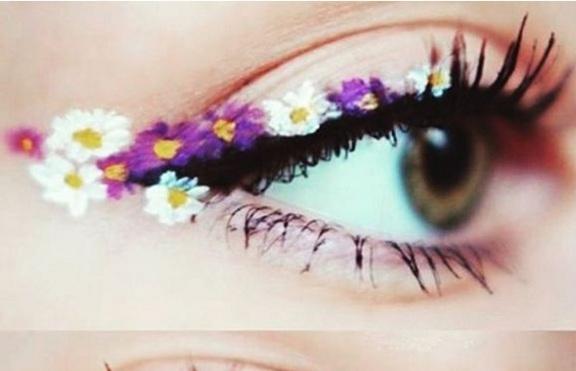 Тенденция: Флорална очна линия