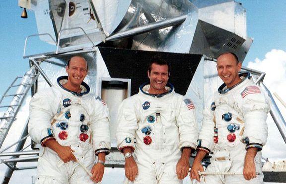 Шестата пилотирана мисия на НАСА, кацнала на Луната,  е Аполо 12