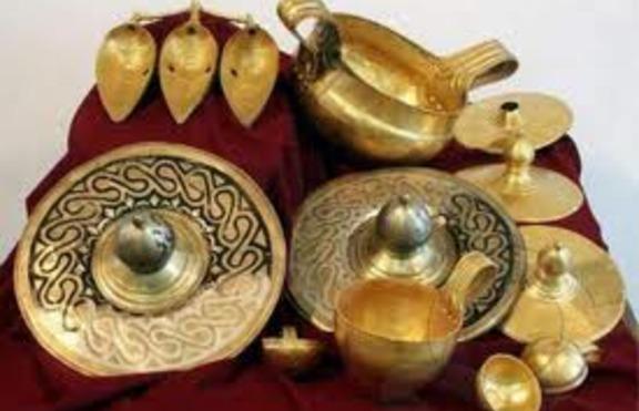 Най-голямото златно съкровище, намерено в България - Вълчитрънското