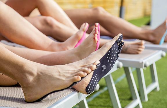 Нови технологии: Лепенки вместо обувки