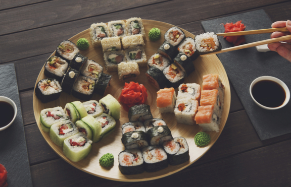 Най-популярните и вкусни видове суши