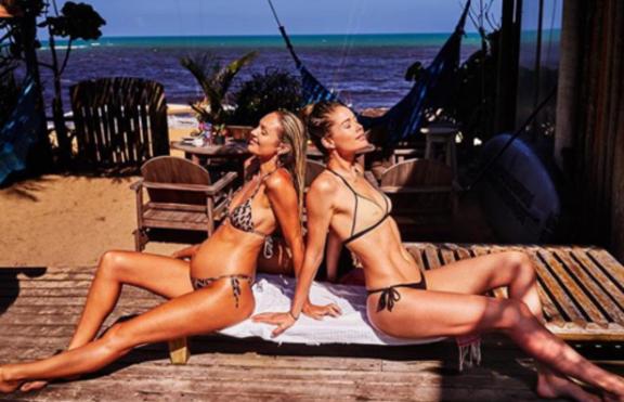 Секси почивката на Даутцен Крус в Бразилия