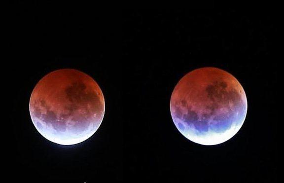 Синя Луна, лунно затъмнение и Супер Луна – този месец!