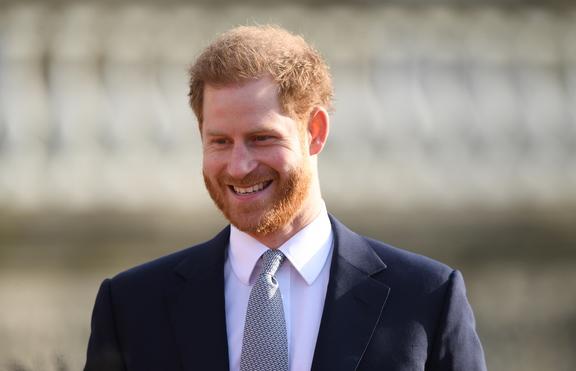 Принц Хари - по-щастлив от всякога