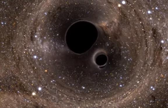 Как изглежда черната дупка в космоса – видео