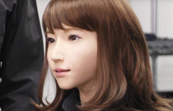 Роботът Ерика – новата водеща на Японските новини