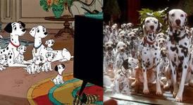 Анимационни герои vs. истински животни