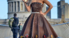 Шоколадова рокля
