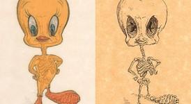 Анимационни герои под рентген