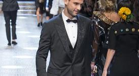 Григор Димитров дефилира като модел за Dolce & Gabbana